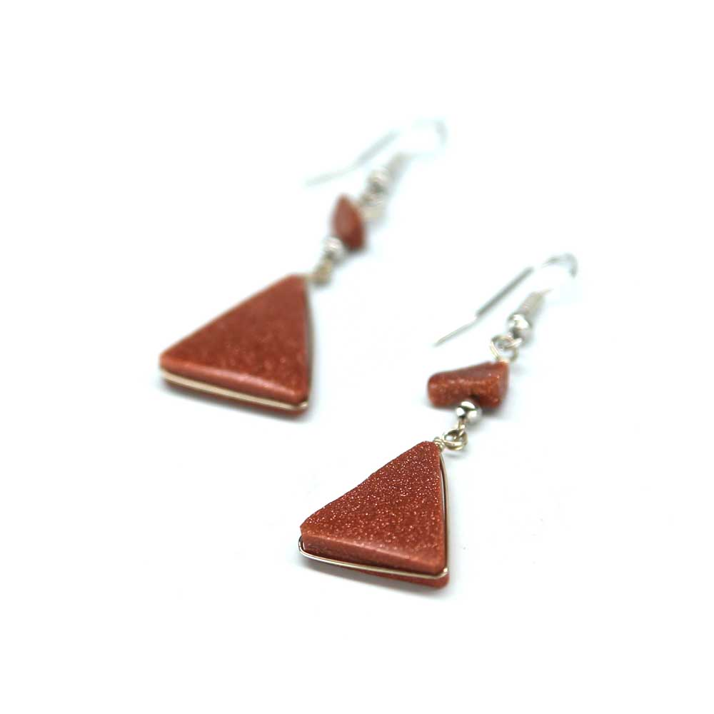 Marmol Earrings - Copper