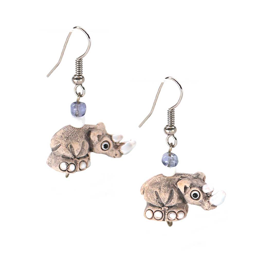 Sanya Rhino Earrings