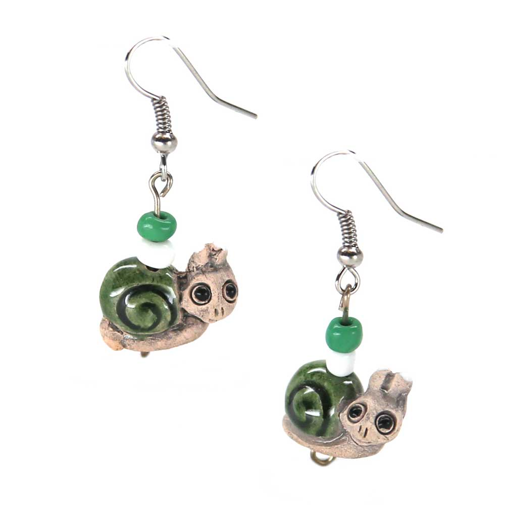 Lily Snail Earrings