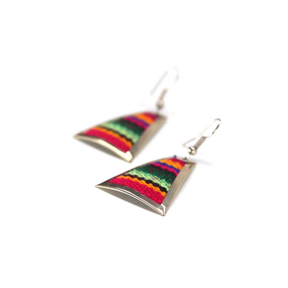 Trapi Earrings - Multi