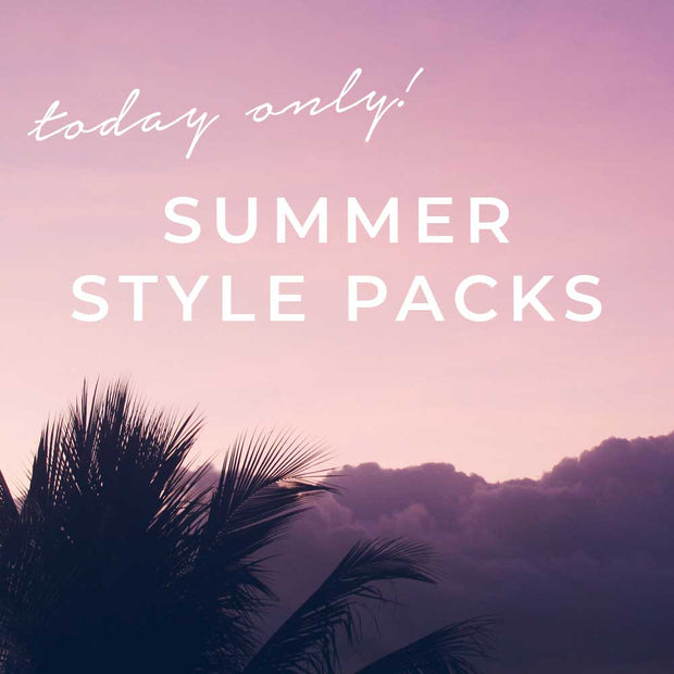 Summer Friday Style Packs