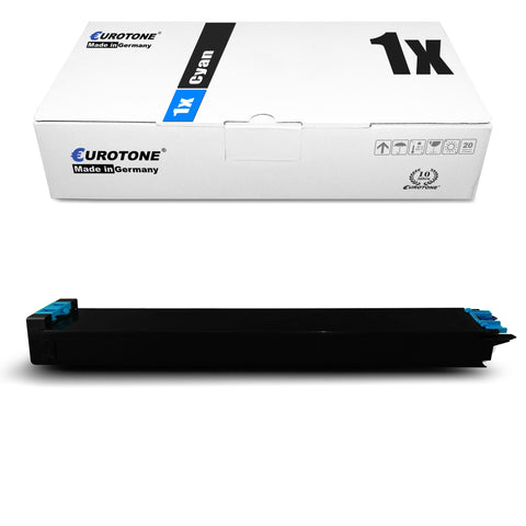 1x Alternativer Toner für Sharp MX-31 GTCA Cyan