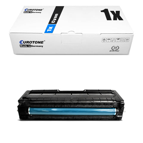 1x Alternativer Toner für Ricoh 407717 Cyan