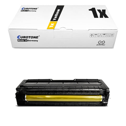 1x Alternativer Toner für Ricoh 407719 Gelb