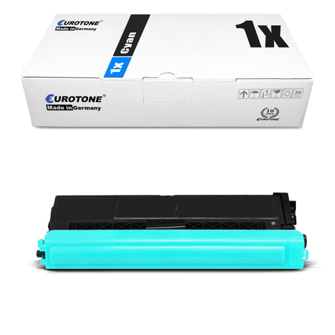 1x Alternativer Toner für Brother TN900C Cyan