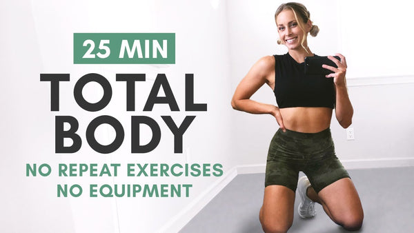 Blast Fat and Tighten Up With This No Equipment Full Body Workout
