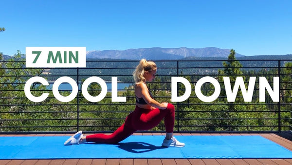 Stretch After Workout: Full Body Cool Down for Flexibility + Relaxation