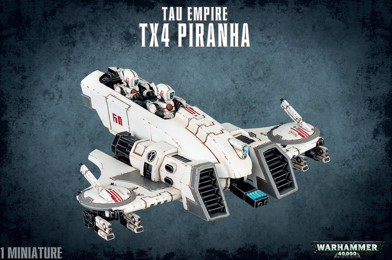 T'au Empire: TX4 Piranha