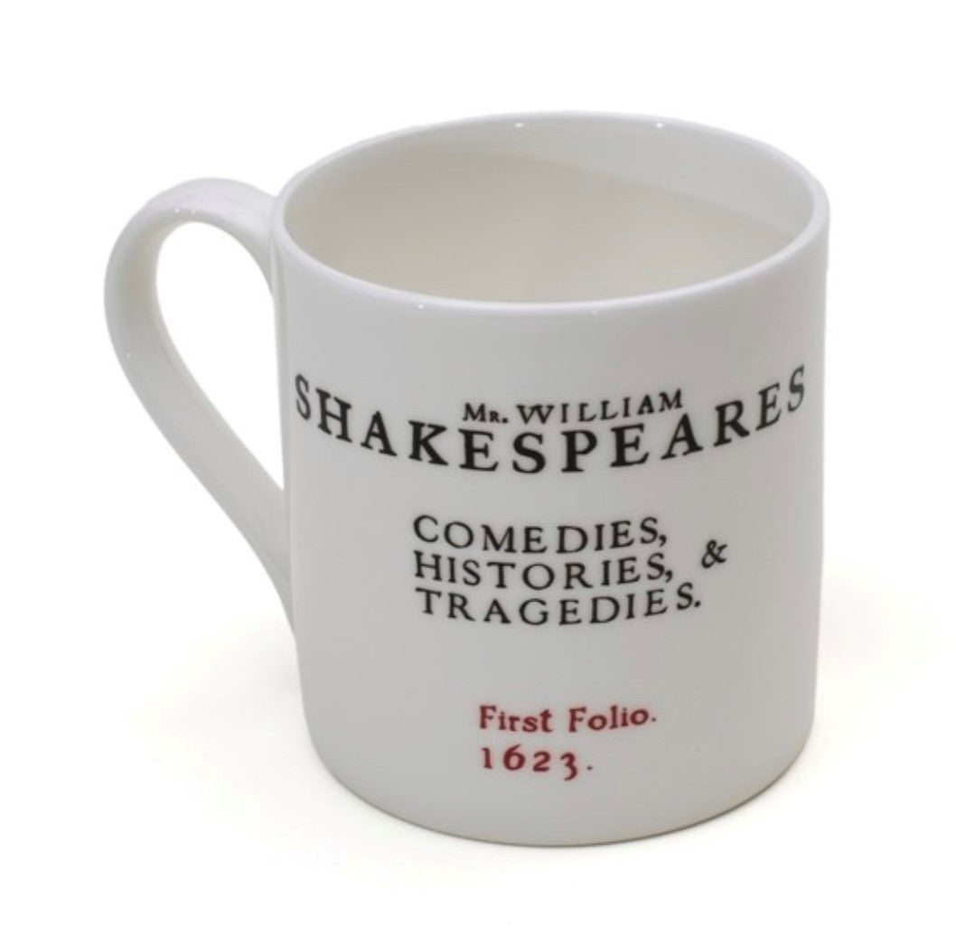 Shakespeare's First Folio Mug