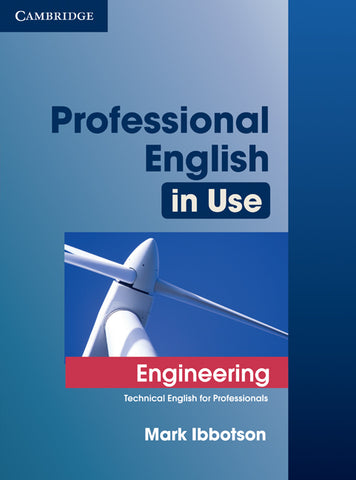 Professional English in Use: Engineering with Answers