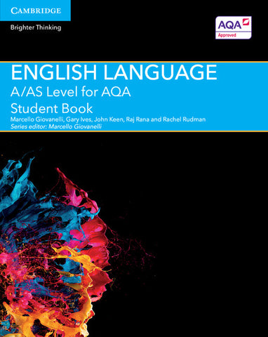 A/AS Level English Language for AQA Student Book