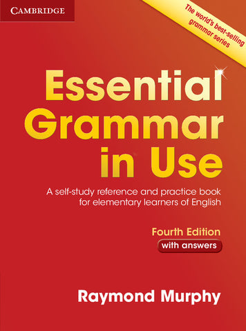 Essential Grammar in Use with Answers (no ebook)