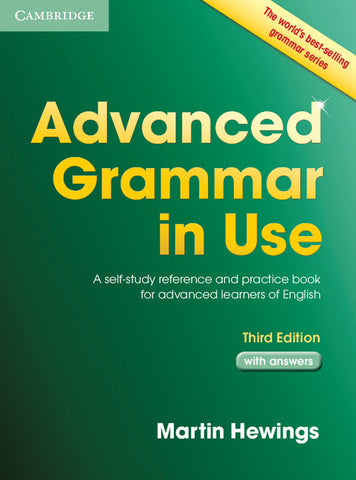 Advanced Grammar in Use with Answers (no ebook)