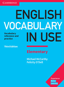 English Vocabulary in Use Elementary Book with Answers (no ebook)