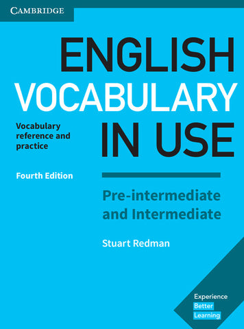 English Vocabulary in Use Pre-intermediate and Intermediate Book with Answers (no ebook)