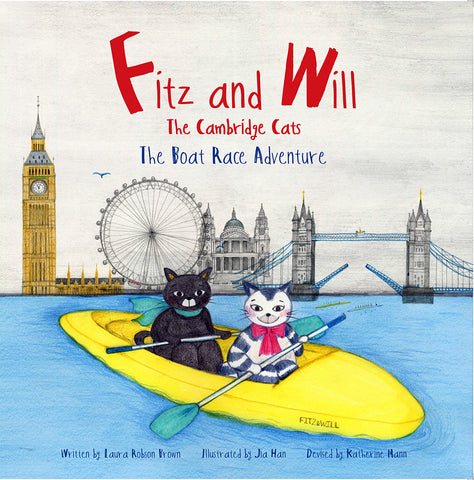 The Boat Race Adventure: Fitz and Will - The Cambridge Cats