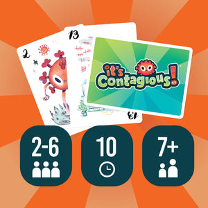 Pre-Order It's Contagious!® Card Game Second Edition