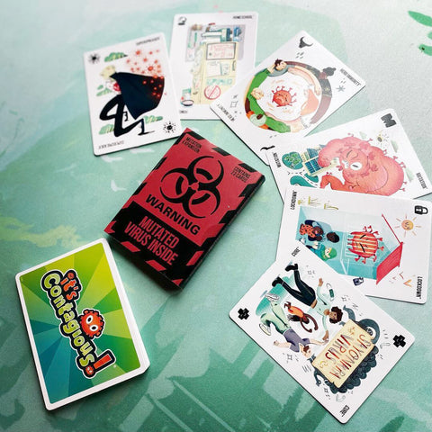 it's contagious card game mutation pack woosung boardgames review