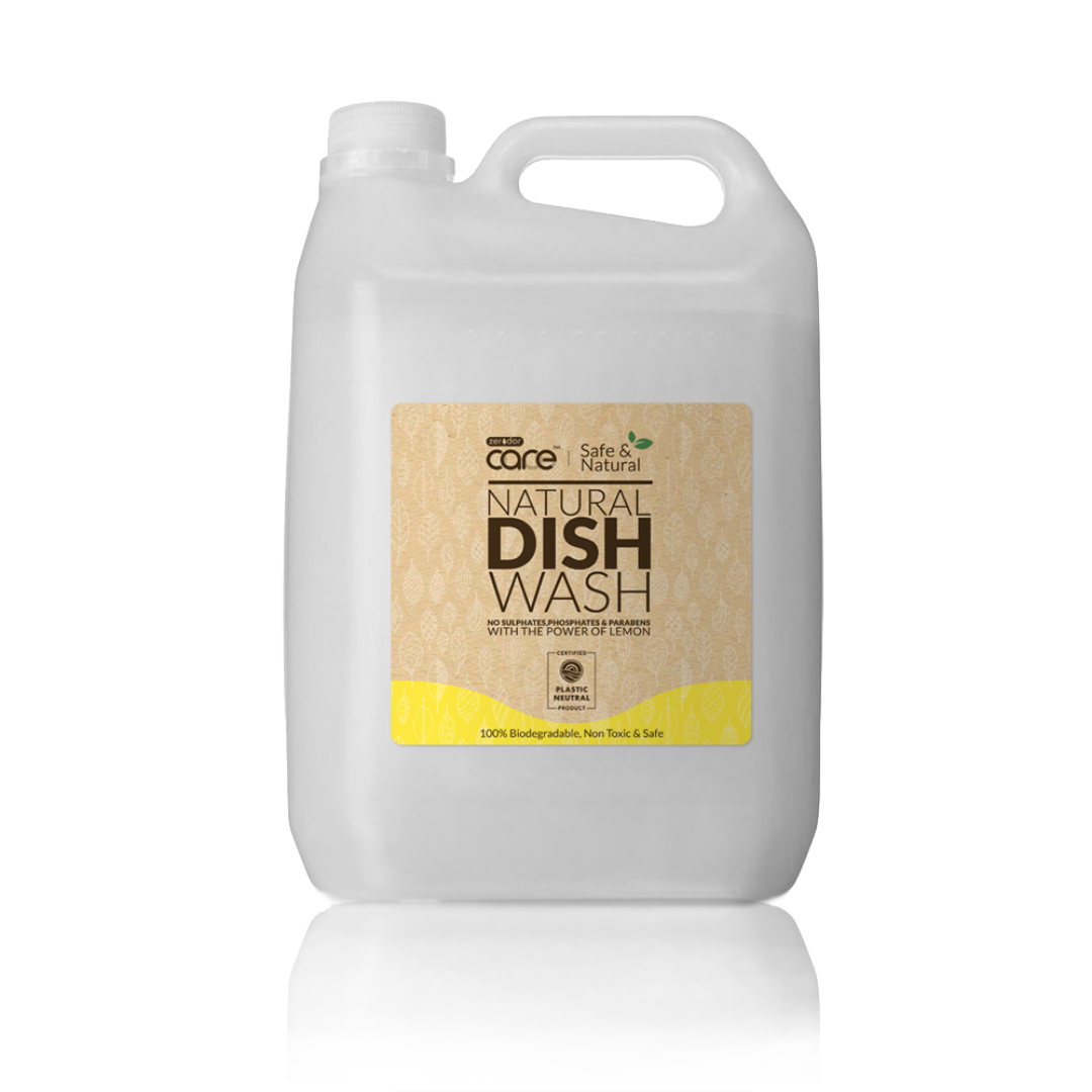 CARE All-Natural Dish Washing Liquid- 5 Litre