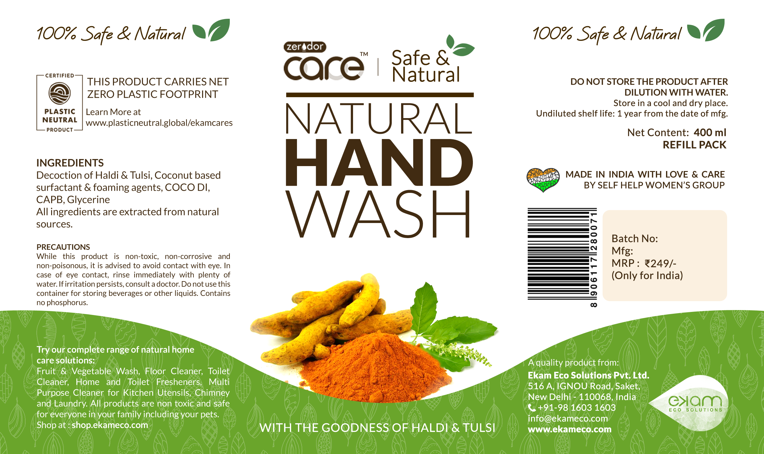 CARE Natural Hand Wash