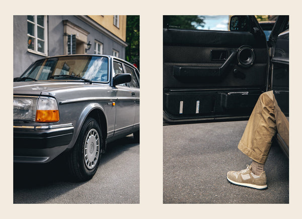 Gustaf and his 1988 Volvo 240GL
