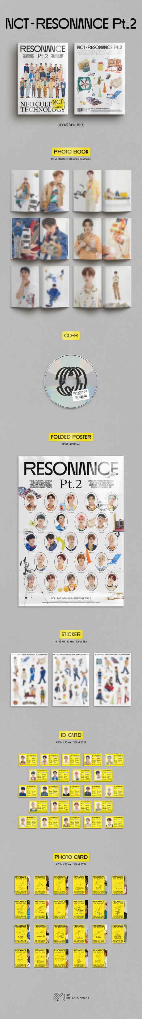NCT - The 2nd Album RESONANCE Pt.2 Product Details
