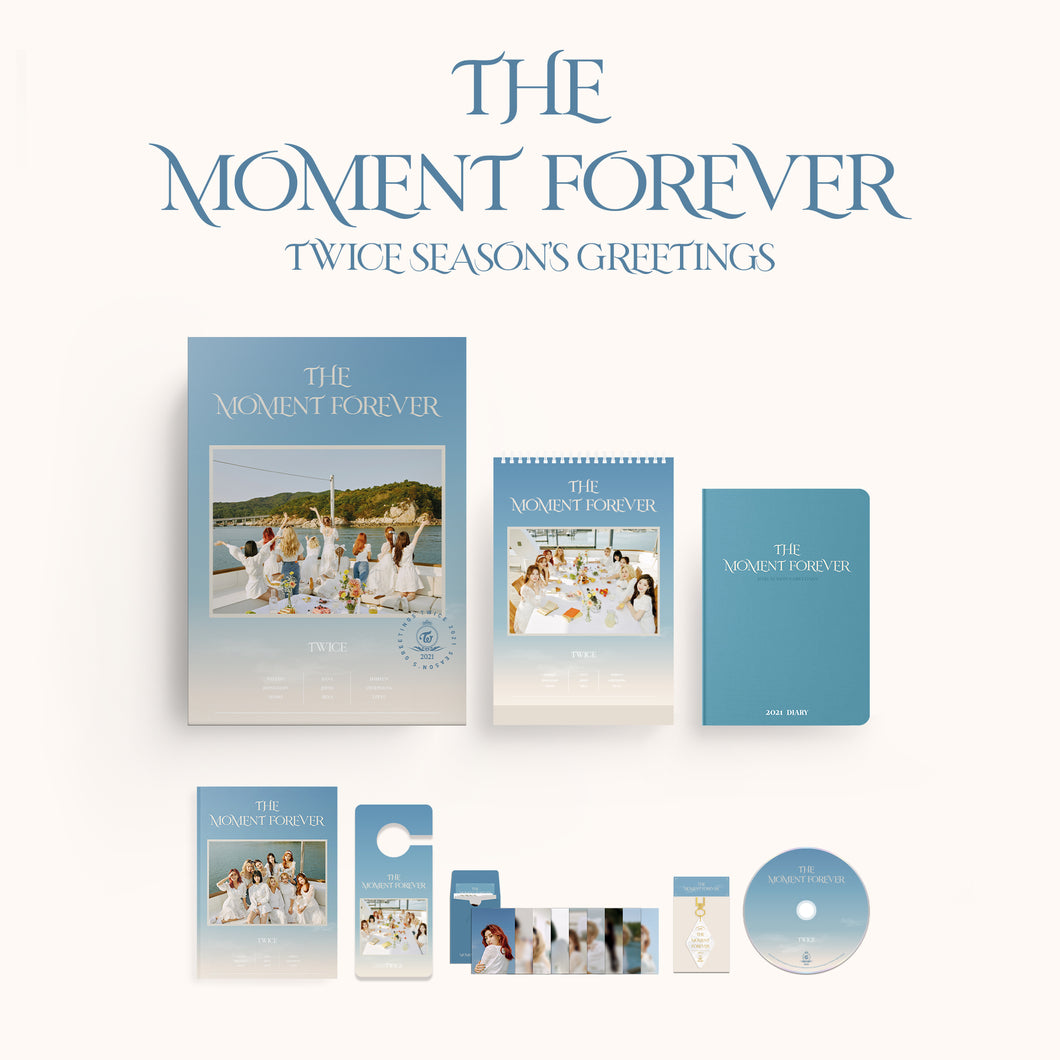 TWICE - THE MOMENT FOREVER [TWICE 2021 SEASON'S GREETINGS]