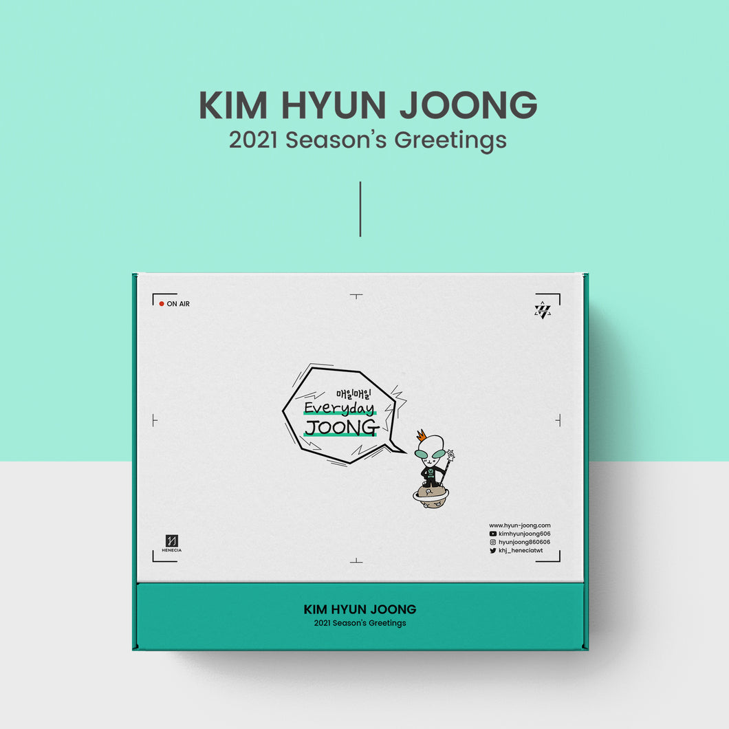 KIM HYUN JOONG - Everyday Joong [2021 SEASONS GREETINGS]