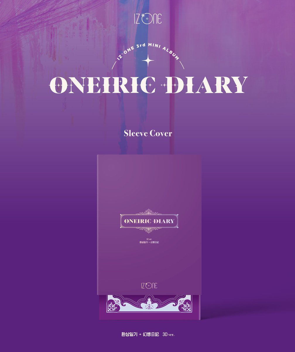 IZ*ONE - Oneiric Diary [3rd Mini Album](3D VER)