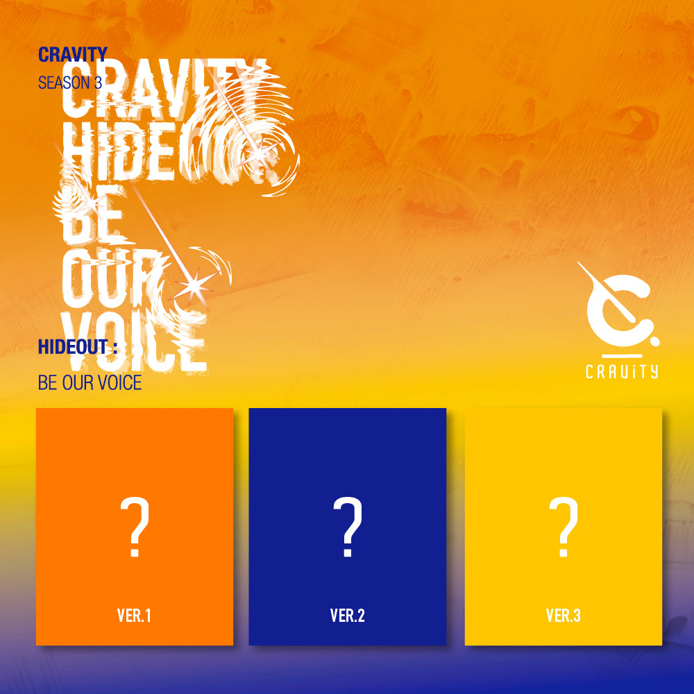 CRAVITY - SEASON3.  [HIDEOUT: BE OUR VOICE] (Set Ver.)