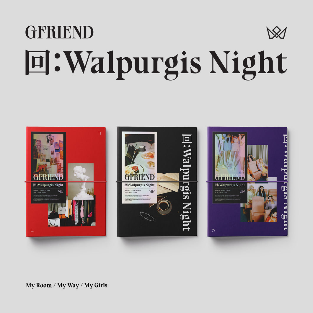 GFRIEND - 回:Walpurgis Night [3rd Studio Album][Random Version]