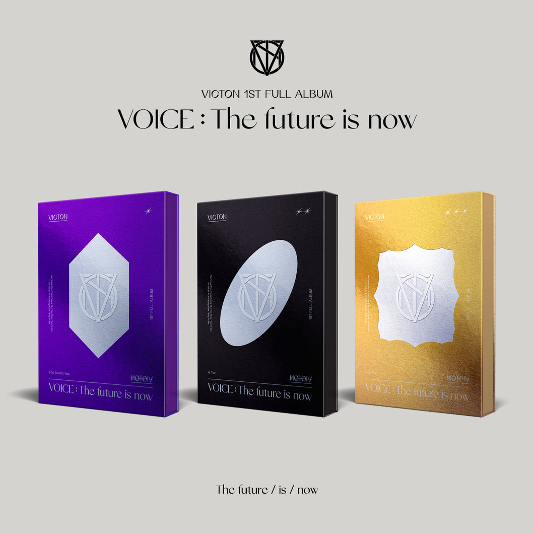 VICTON - VOICE : The future is now [1st Studio Album] (Random Ver.)
