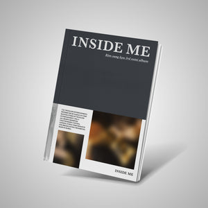 KIM SUNG KYU - INSIDE ME [3rd Mini Album] [A Ver.]
