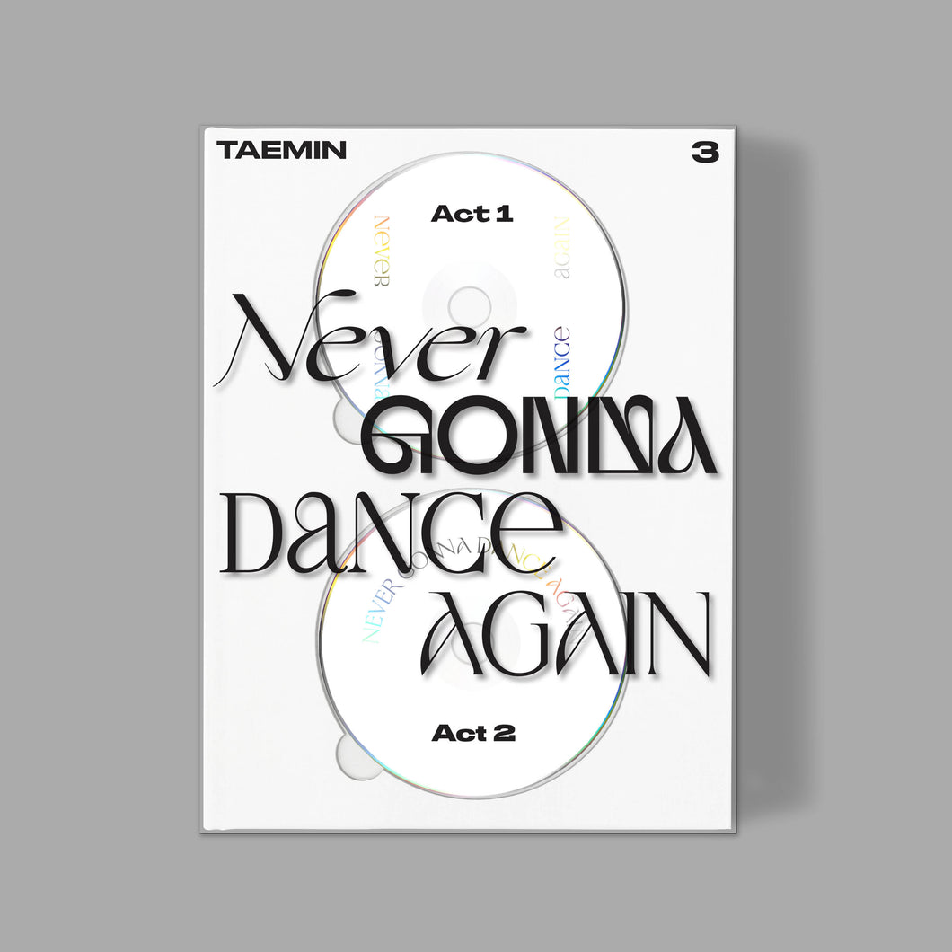 TAEMIN - Never Gonna Dance Again (Extended Ver.) [3rd Studio Album]