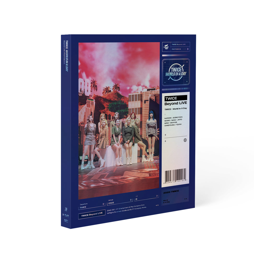 TWICE - Beyond LIVE World in A Day PHOTOBOOK