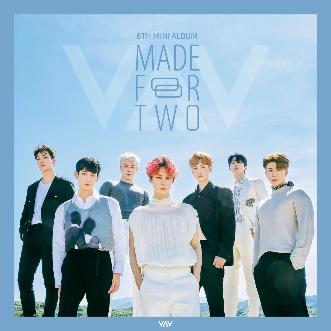 VAV - MADE FOR TWO [6th Mini Album]