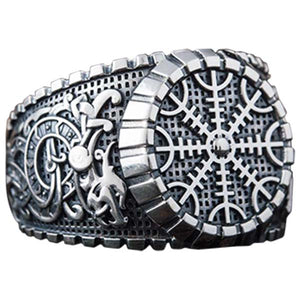 Bague Helm of Awe en argent ou en or fabrication artisanale