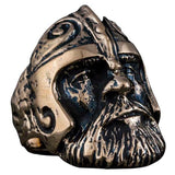 Bague viking bronze guerrier scandinave