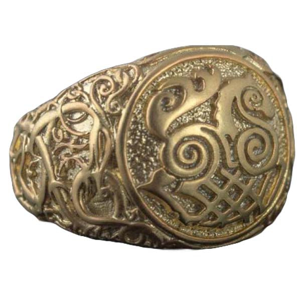 Sleipnir bague en or unique | vikingceltic