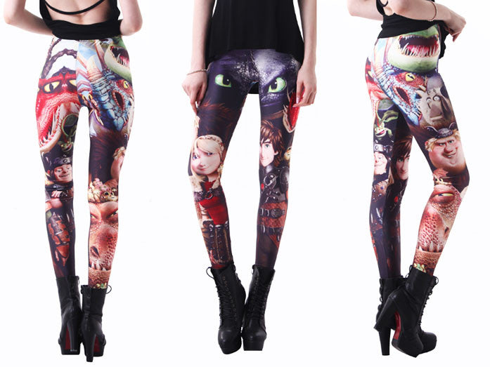 How To Train Your Dragon Leggings