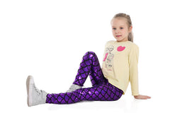 Mermaid Leggings for Kids
