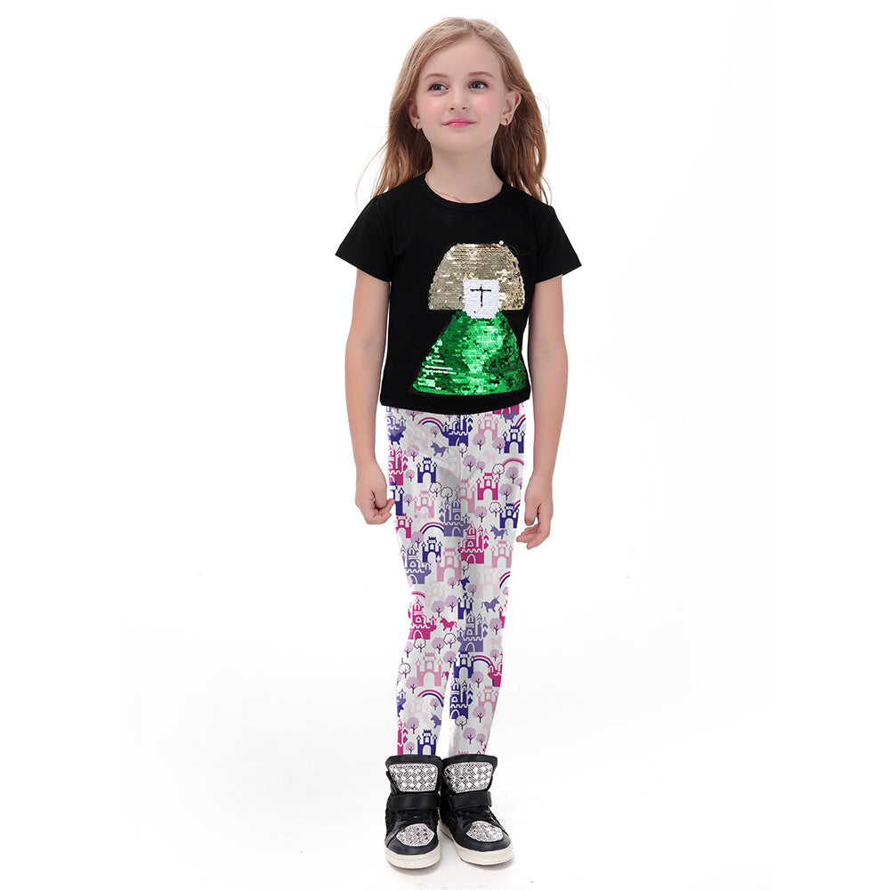 Castleland Leggings for Kids