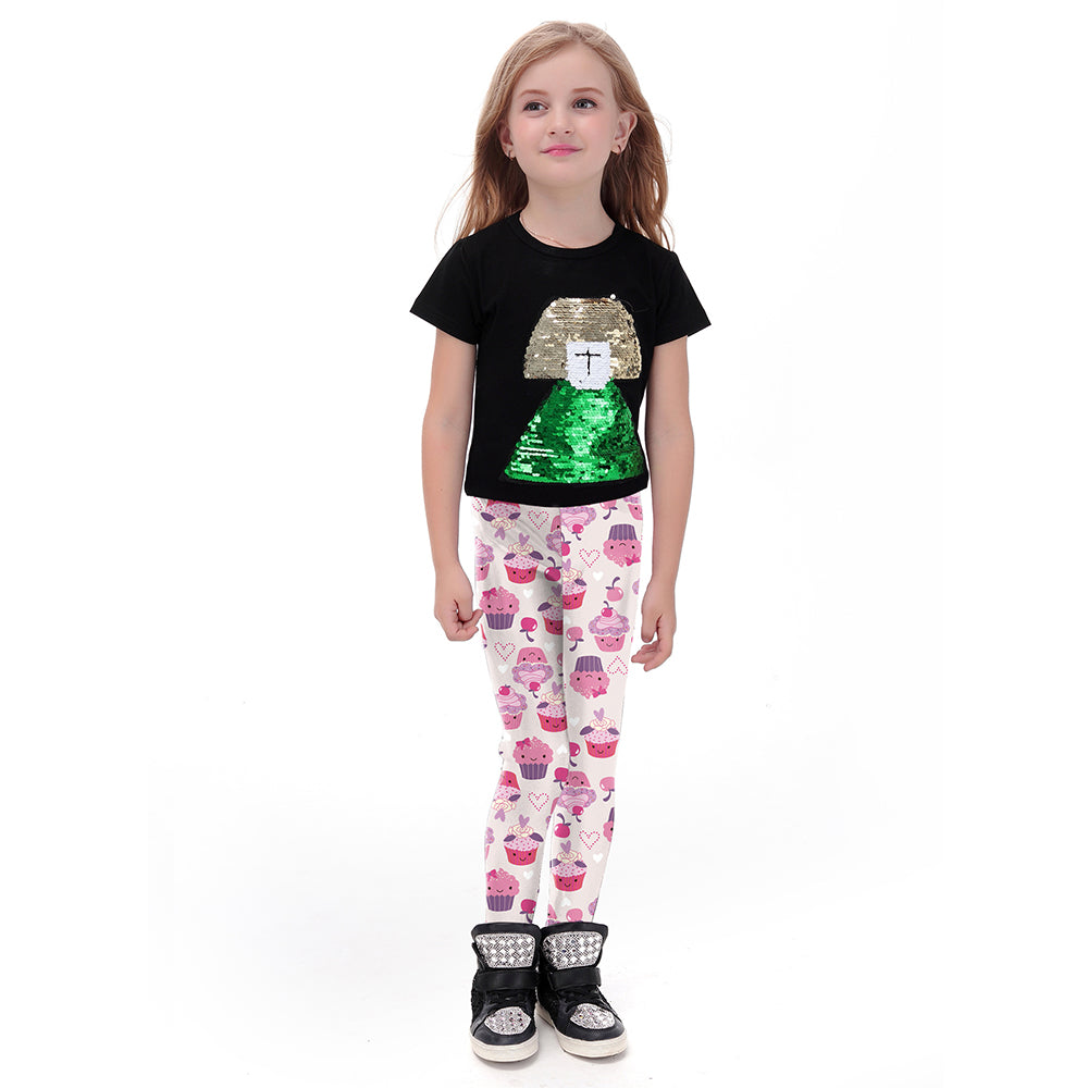 Cupcake Leggings for Kids