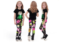 Slumber Party Leggings for Kids