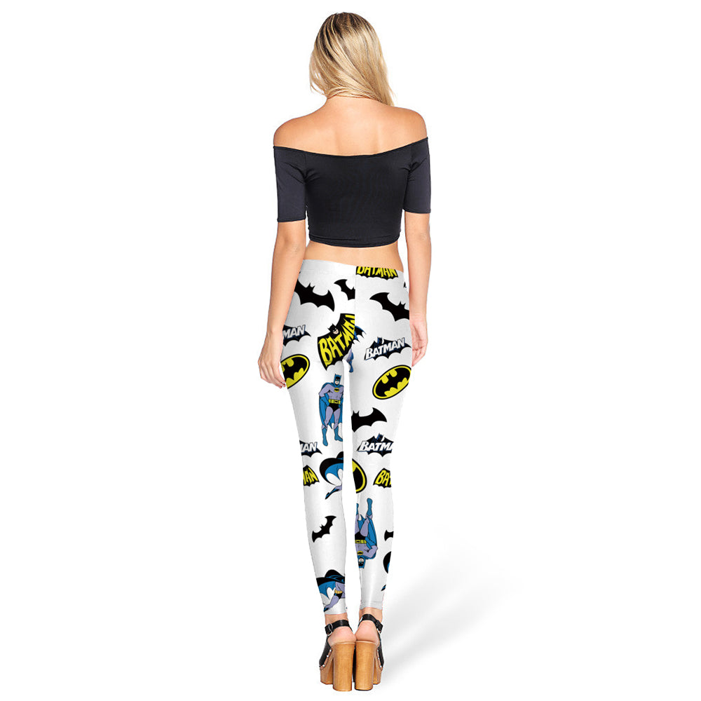 Caped Crusader Leggings
