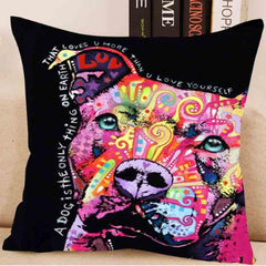 A Dog's Love Pillow Cover