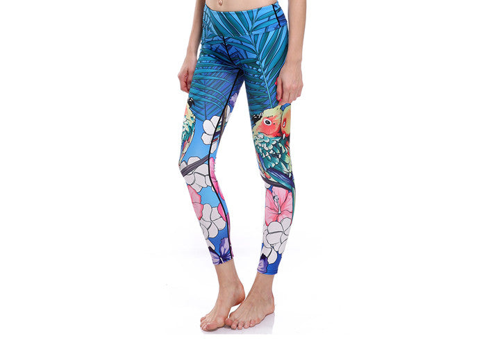 Tropical Blue Leggings