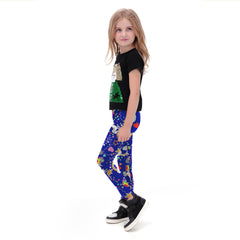 Color Whirl Leggings for Kids