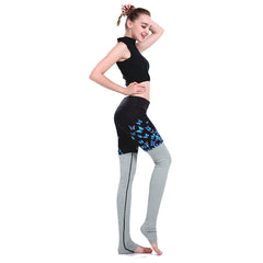 Blue Butterfly Leggings