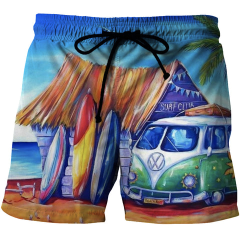 Limited Edition Surf Club Board Shorts